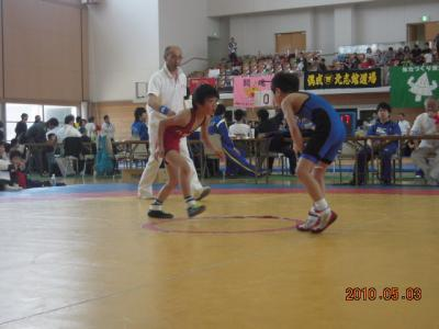 H22.5.2~3 少年レスリング北日本大会 030