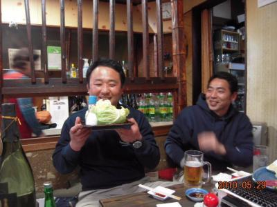 平成22年5月29日 石井コーチ就職祝い 007
