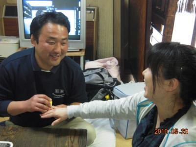 平成22年5月29日 石井コーチ就職祝い 021