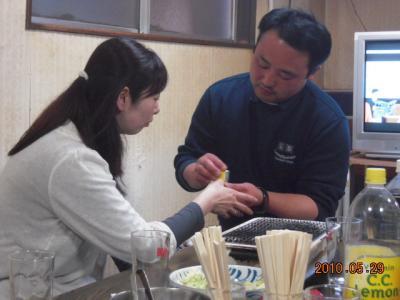平成22年5月29日 石井コーチ就職祝い 027
