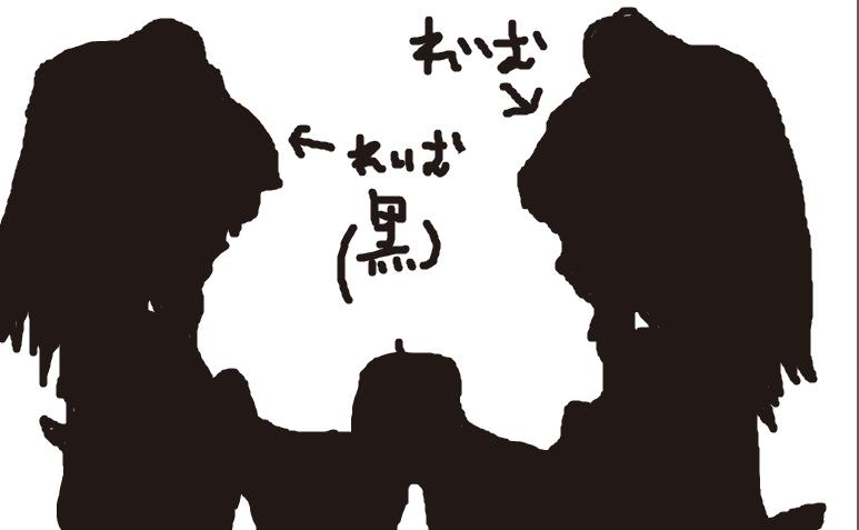 BadApple 霊夢二人