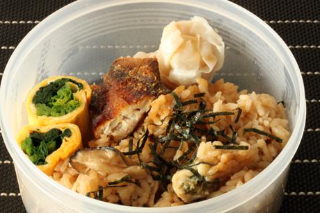 牡蠣ご飯弁当