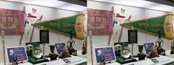 阪急西宮ギャラリー 展示物(平行法)