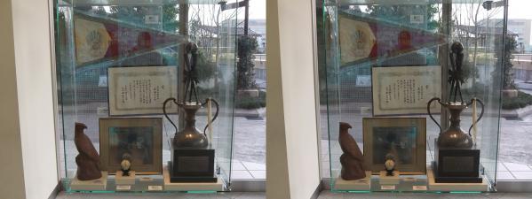 南海ホークス メモリアルギャラリー 展示物②(交差法)