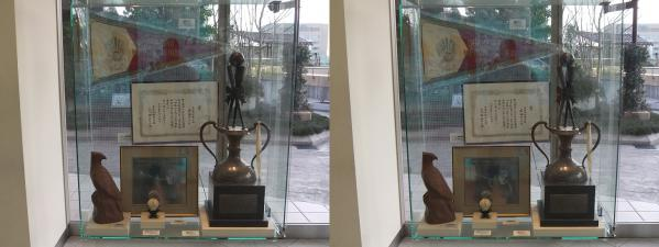 南海ホークス メモリアルギャラリー 展示物②(平行法)