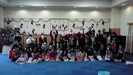20091225 クリスマスサンタ #2