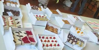 200809 にゃくざき ケーキ画像