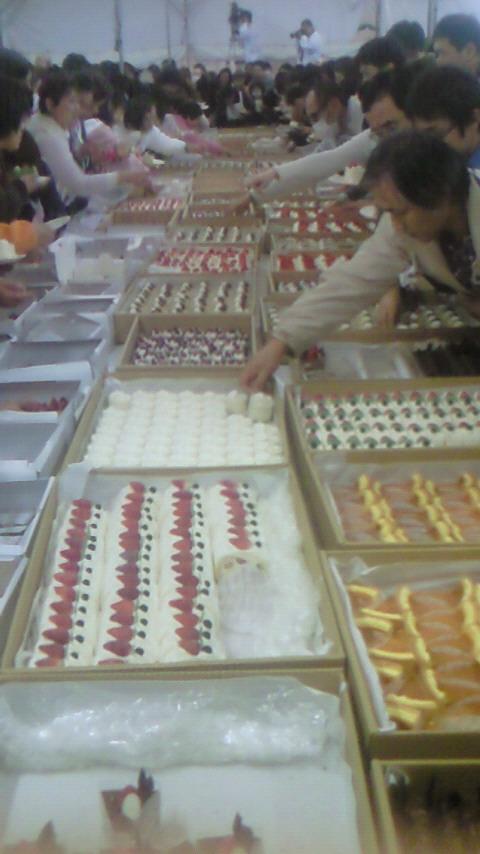 20101204-07  北志賀研修 ケーキ画像1