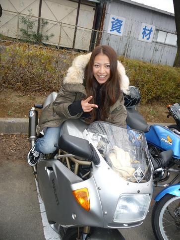 吉澤恵と900SS