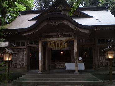 高千穂神社本殿