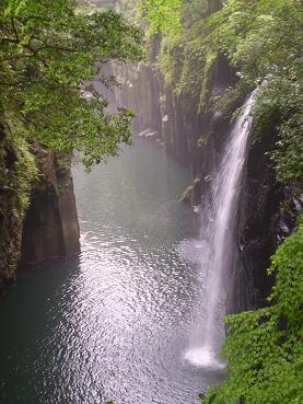 高千穂峡 滝2