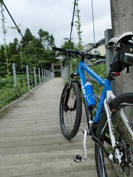 吊り橋巡りの日・1