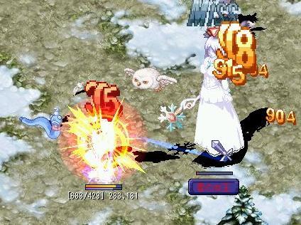 VS雪の女王