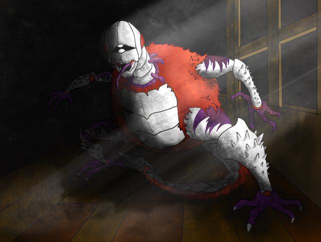 どん吉さんによる素晴らしく怖い挿絵