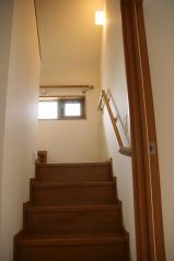 ロフトへの固定階段