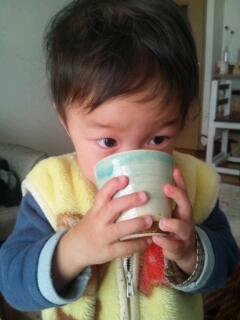 20130210_お茶飲みちび太