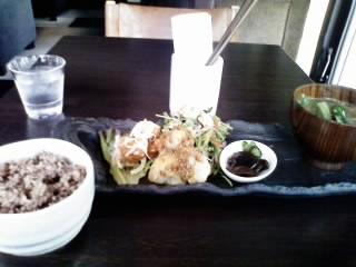 穀菜ランチ