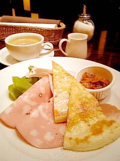 IL PINOLO CAFFE 朝食セット