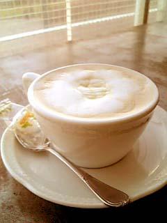 cafe43 ハニーミルクラテ