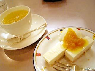 ゆーゆー はちみつレモン+あまなつクリームチーズケーキ