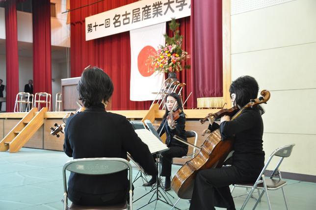 入学式生演奏