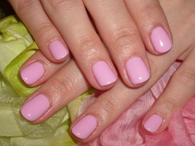 ラブリーピンクの梨花ネイル