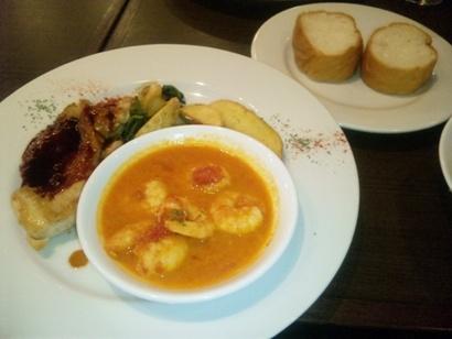 おいしいランチ おしゃれランチ お得ランチ 日替わり スペイン料理 池袋東口 バル・デ・リコ 100516