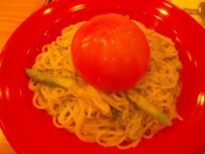 おいしいランチ スパゲッティ食堂 ドナ 大宮西口 そごう まるごと焼トマトのバジルソース ネイルサロンマジーク大宮店 鈴木雅子110109