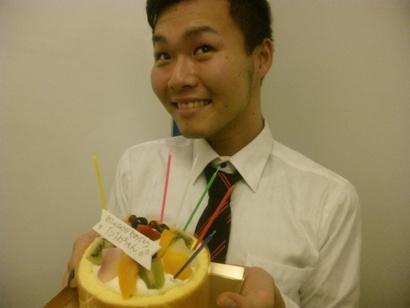 誕生日 ケーキ バースデー110211