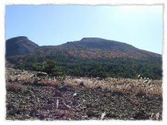 韓国岳の秋