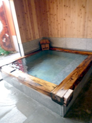 三加和温泉の湯亭 上弦の月でまったり温泉♪