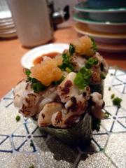 天神イムズの博多漁家 すし磯貝で新鮮回転寿司!