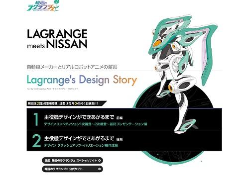 Lagranges Design Story