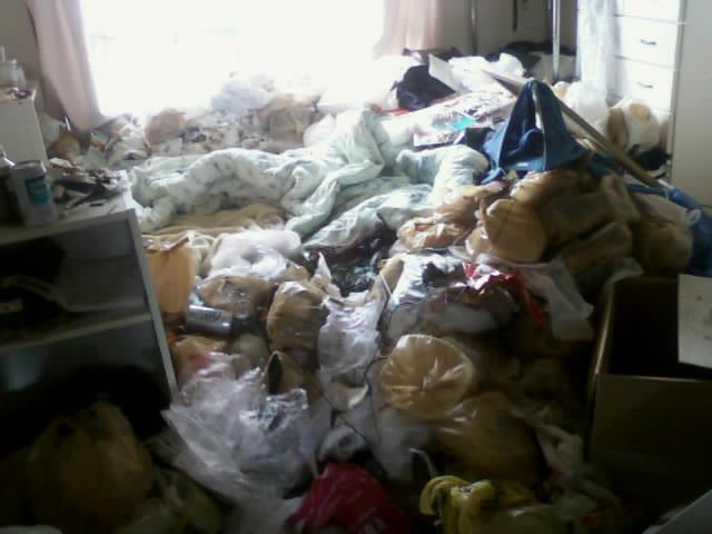ゴミ屋敷状態