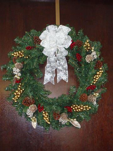 Christmas Wreath 2009 1