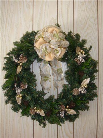 Christmas Wreath 2009 2