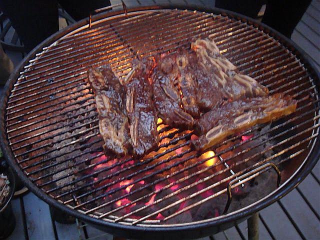 BBQ in Volcano