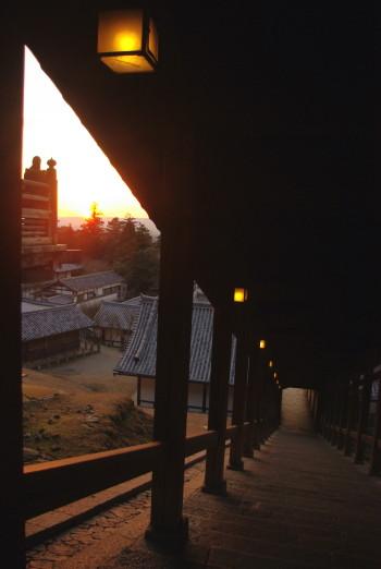 二月堂夕景6