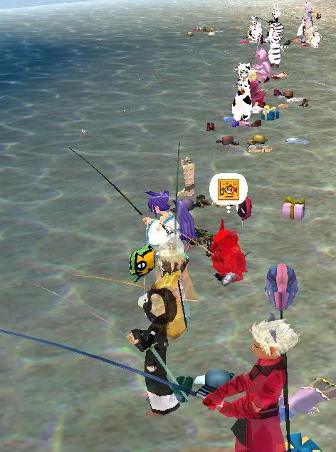 釣りイベント大盛況ー