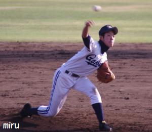 学館・糸川投手