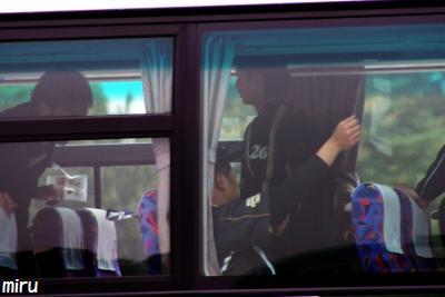 バスに乗った遥輝くん