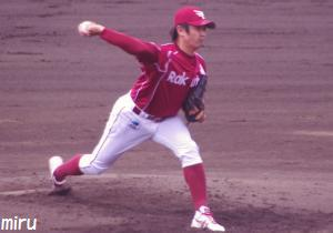 楽天・松本投手