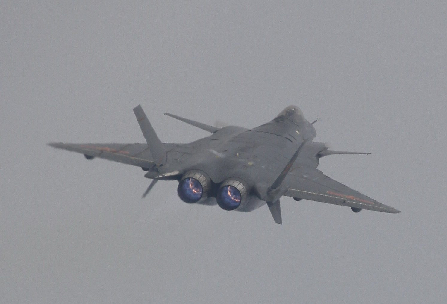 J-20 Mighty Dragon Chengdu J-20 fifth generation stealth, twin-engine fighter aircraft prototype Peoples Liberation Army Air Force OPERATIONAL weapons aam bvr missile ls pgm gps plaaf (2)
