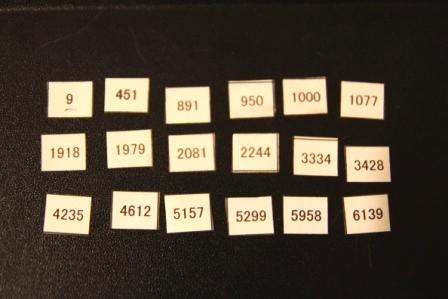 抽選番号20100831