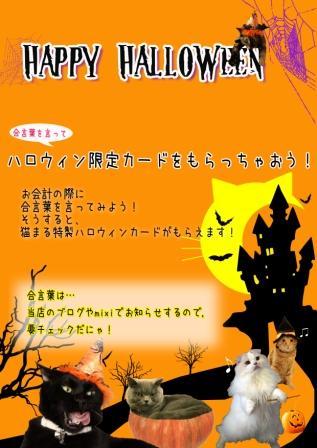 ハロウィン20101021