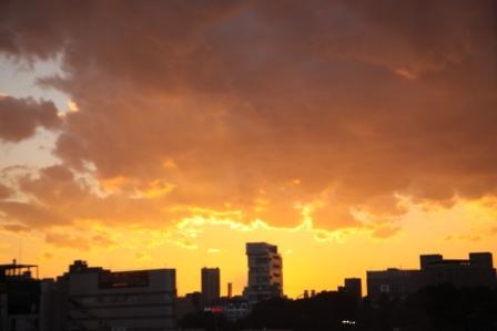夕焼け20101110