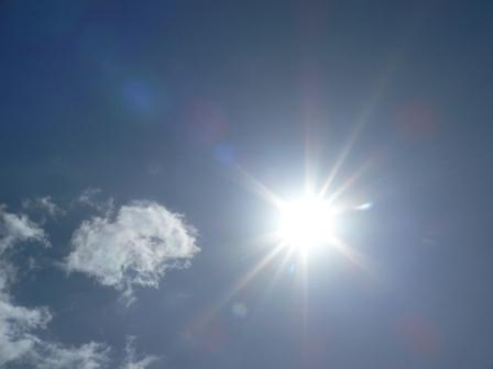 2010.3.20 春分の日のお陽さま