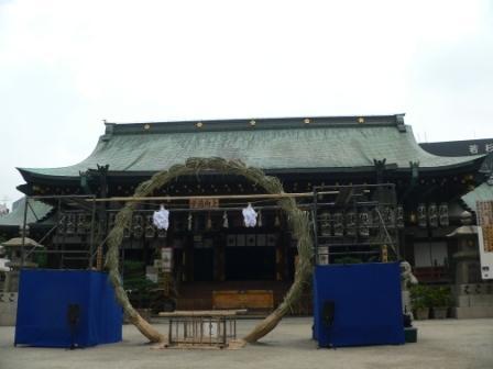 七夕の大阪天満宮