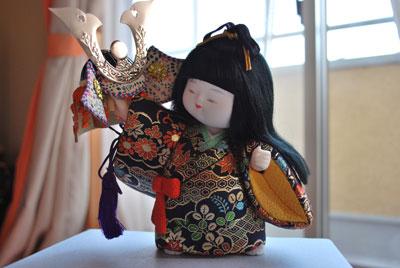 木目込み人形 【子供大将】