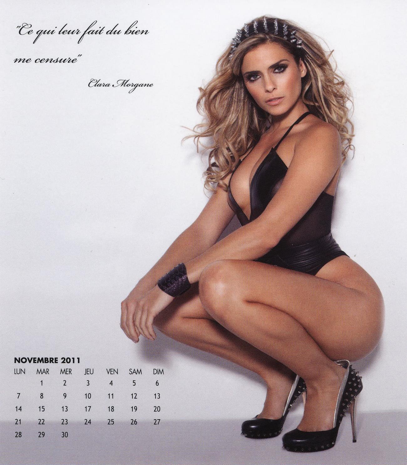 Clara morgane calendar agree